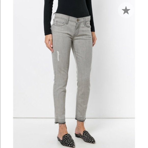 Current/Elliott Denim - Grey Current/Elliot Skinny Stiletto Jeans 25